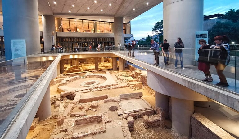 Museo de la Acrópolis, uno de los museos de Atenas más interesantes