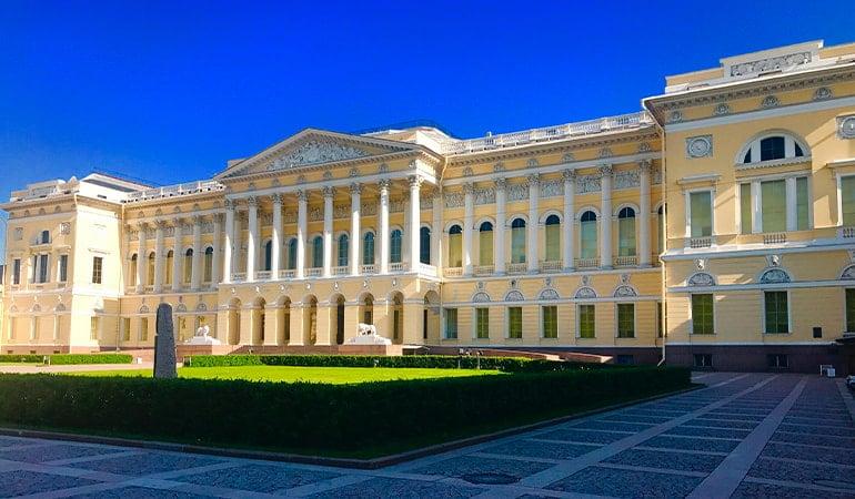 Museo Estatal Ruso, uno de los museos de San Petersburgo
