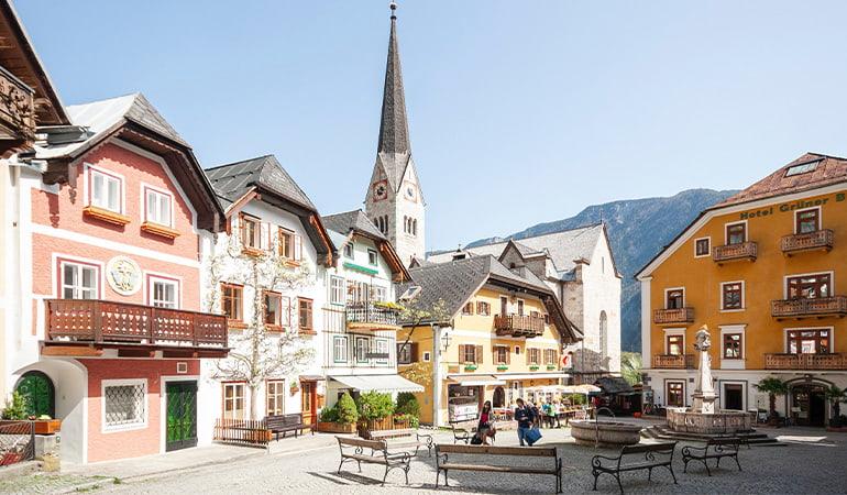 Markplatz, uno de los lugares que ver en Hallstatt
