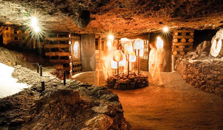 minas de sal Salzwelten