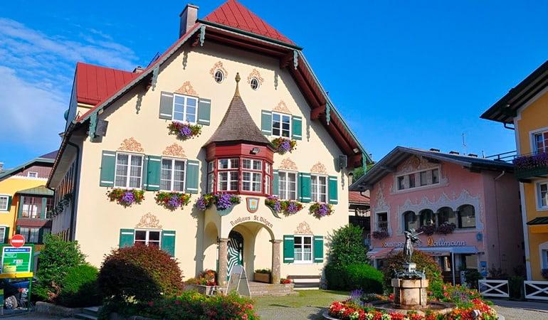 Sankt Gilgen, uno de los pueblos que ver en Wolfgangsee
