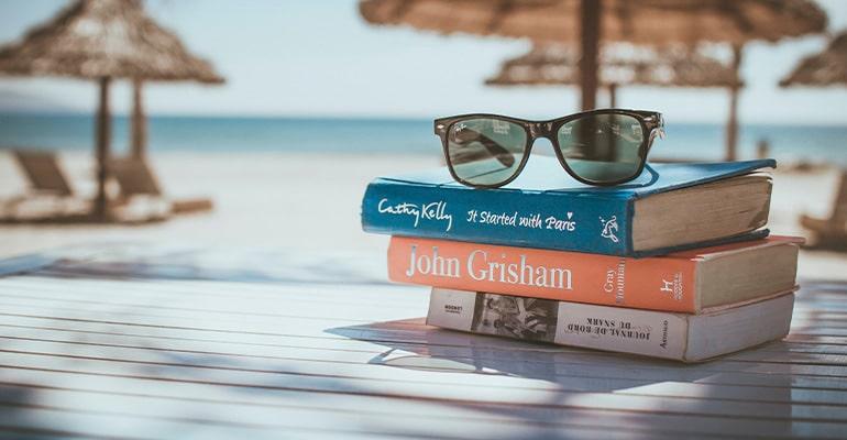 libros, uno de los regalos viajeros