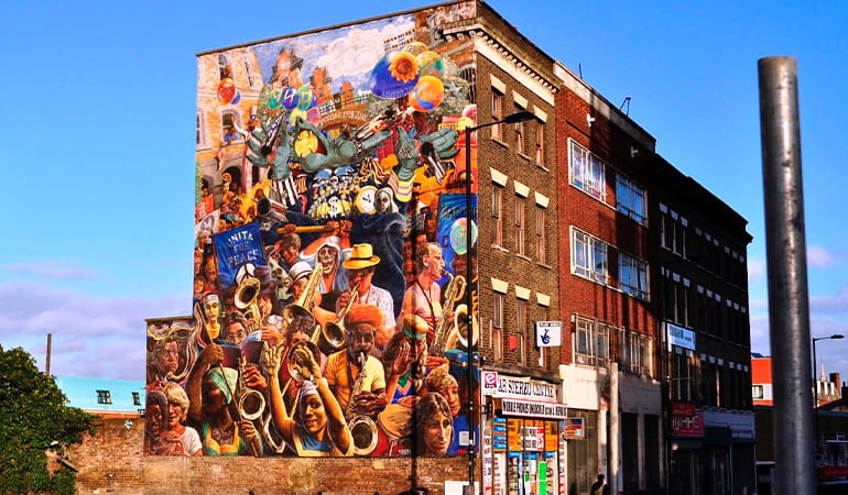 Dalston, barrio para hacer turismo LGBT en Londrres