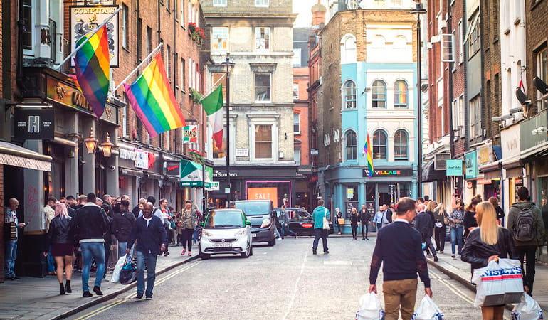 Soho, el barrio más LGBTQ de Londres